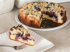 Blueberry Sour Cream Coffee Cake - Annie's Cooking Lab