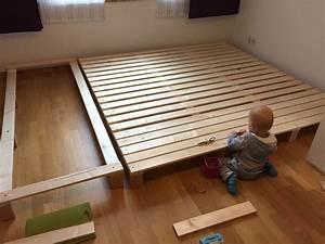 Bett Selber Bauen Holz : 1000 ideen zu familienbett auf pinterest ~ Markanthonyermac.com Haus und Dekorationen