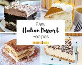 24 easy italian desserts recipelion