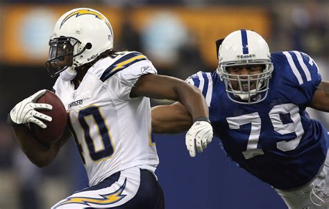 Legedu Naanee In San Diego Chargers V Indianapolis Colts