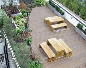 Holzdielen Für Terrasse : nutzen sie ihr flachdach terrasse balkon alwitra ~ Markanthonyermac.com Haus und Dekorationen