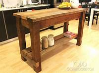 how to build a kitchen island Ana White | Gaby Kitchen Island - DIY Projects