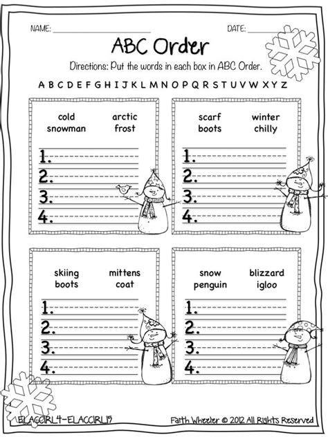 1st Grade » Abc Order Worksheets 1st Grade  Printable Worksheets Guide For Children And Parents