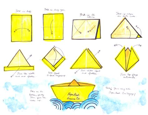How To Make A Paper Boat Step By Step With Pictures by Paper Boats Prairie State Of Mind