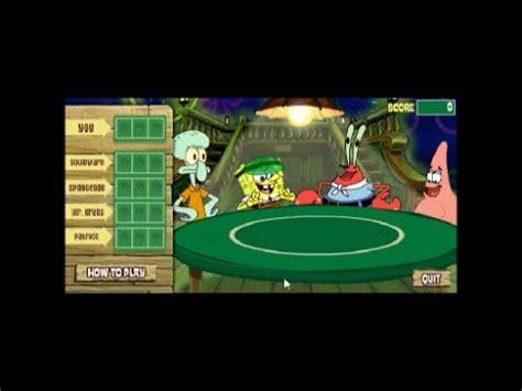 indybob plays spongebob squarepants deck draw w commentary happy 8d