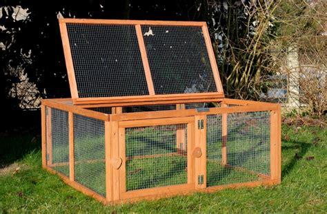 enclos pour poules canards cailles run out animaloo