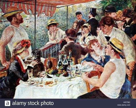 Luncheon Of The Boating Party By Pierre Auguste Renoir Analysis painting titled luncheon of the boating party by pierre