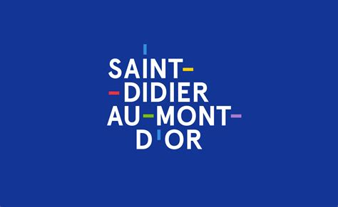 visual identity for the city of didier au mont d or