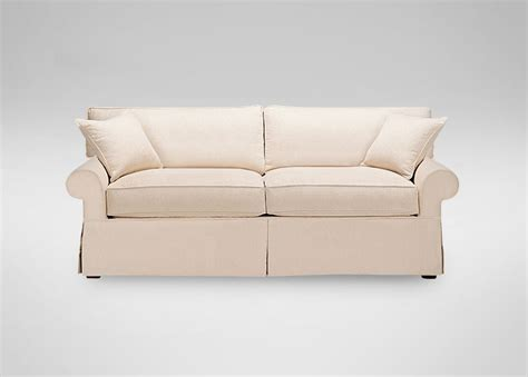 Ethan Allen Sectional Sofa Slipcovers by Slipcovered Sofa Ethan Allen