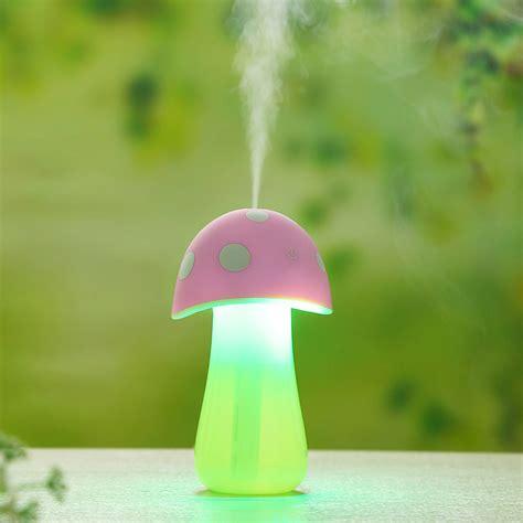 Mushroom lamp humidifier humidifier home office small mini