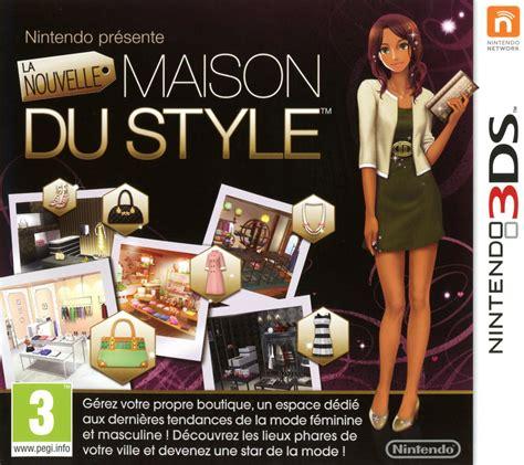 la nouvelle maison du style sur nintendo 3ds jeuxvideo