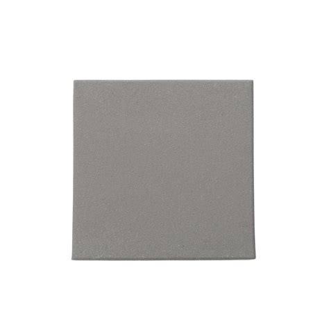 Daltile Quarry Tile Specifications by Daltile Quarry Ashen Gray 6 In X 6 In Ceramic Floor And