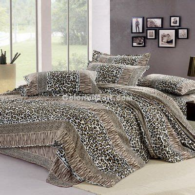17 best ideas about cheetah print bedding on