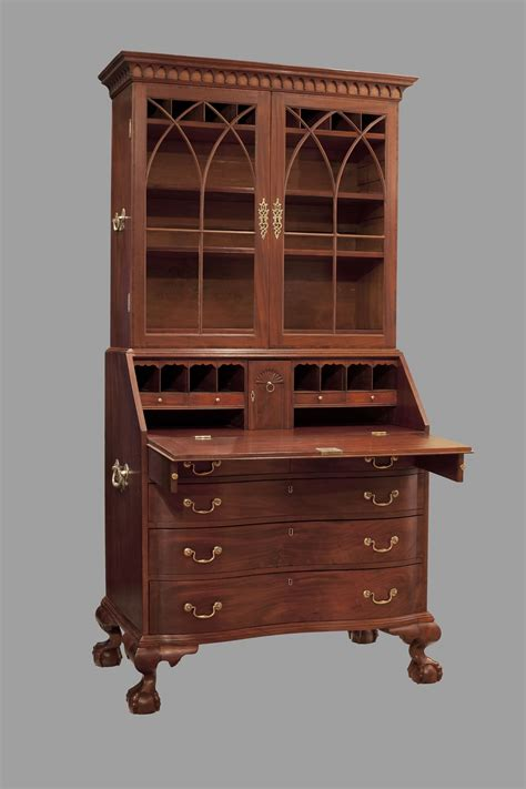 Boston, Chippendale Secretary Desk Circa 1780  1790. Custom Jewelry Drawer Inserts. 7 Drawer Tall Dresser. Computer Desk With Hutch Office Depot. Florence Knoll Desk. Squeaky Desk Chair. Tv And Computer Desk. Adjustable Height Round Table. Behind The Couch Bar Table