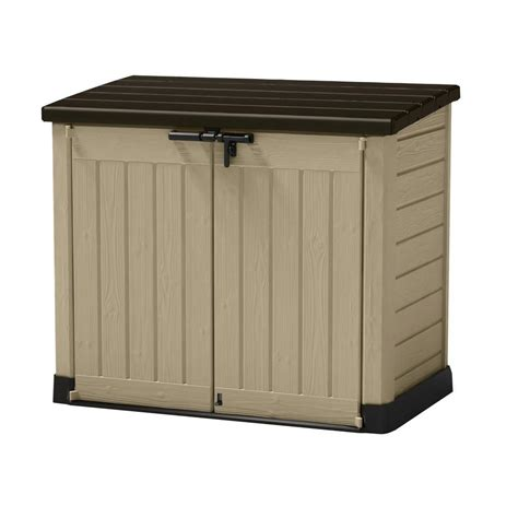 Home Depot Outdoor Storage Cabinets by Outdoor Storage Sheds Garages Amp Outdoor Storage The