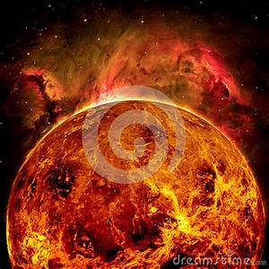 Planet Venus - Elements Of This Image Furnished By NASA ...