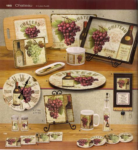 Grape Accessories For Kitchen by Kitchen Wine Decor Kitchen Decor Design Ideas