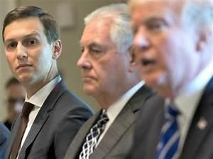 Report: Jared Kushner, Rex Tillerson Feud Deepens over ...