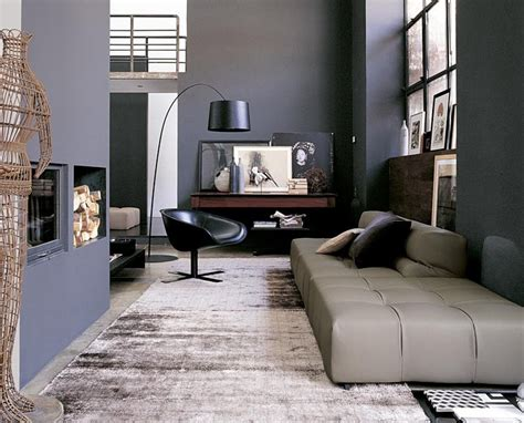 gray black living room interior design ideas