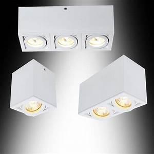 Lampen Spots Badezimmer : deckenleuchte aufbauspot deckenlampe leuchten lampen deckenstrahler spot neu ebay ~ Markanthonyermac.com Haus und Dekorationen