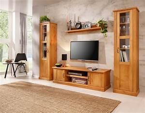 Mediterrane Farben Fürs Wohnzimmer : home affaire wohnwand mika 3 tlg kaufen otto ~ Markanthonyermac.com Haus und Dekorationen