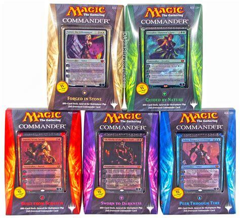 magic 2015 commander decklist autos post