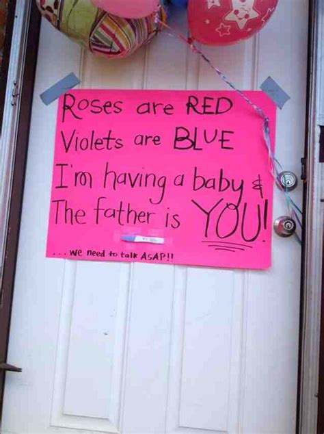 Pregnancy Announcement Of The Day The Poke