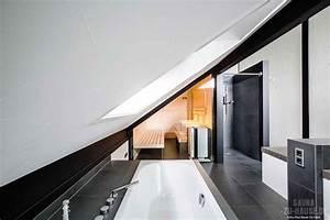 Sauna Zu Hause : schwarz wei gedacht sauna zu hause ~ Markanthonyermac.com Haus und Dekorationen
