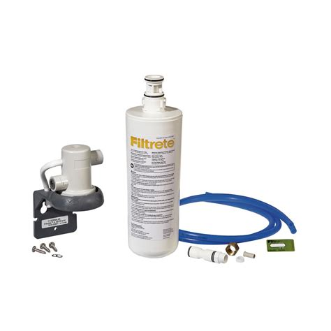 Filtrete Sink Standard Replacement Water Filter by Filtrete Water System Standard Filtration 3us