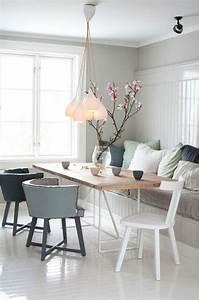 Sessel Skandinavischer Stil : einrichtungsideen esszimmer die den essraum aufpeppen my home pinterest ~ Markanthonyermac.com Haus und Dekorationen