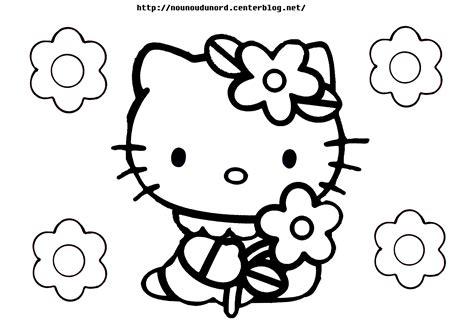 140 Dessins De Coloriage Hello Kitty À Imprimer Concernant