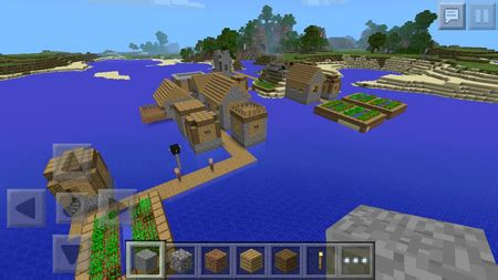 How To Make A Boat In Minecraft Ipad by Top 10 Seeds Minecraft Pocket Edition Minecraft Fr