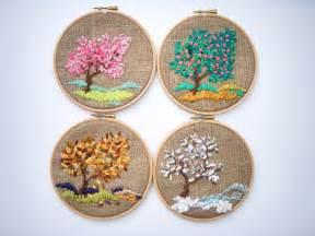 hoop tapestry embroidery hoop fiber decorative arts textiles modern