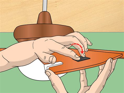 how to balance a wobbly ceiling fan 7 steps with pictures