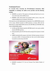 Marketing report mobile service industry (1)