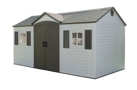 lifetime shed 6446 lifetime 15x8 storage shed model 6446