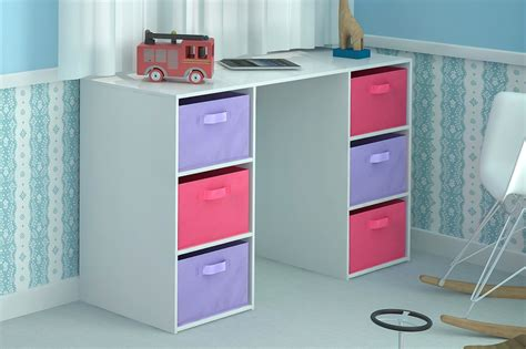 desk storage 6 canvas drawers for children s