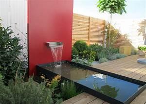 Wasserlauf Garten Modern : bildergalerie wasserbecken terrasse garten sichtschutz schwimmteich gartenplanung ~ Markanthonyermac.com Haus und Dekorationen