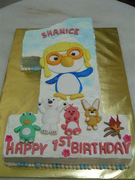 one year birthday cake the best cakes in town pororo one year birthday cake