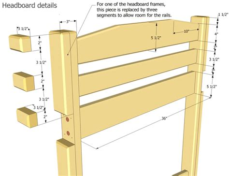 Loft Bed Woodworking Plans by Bunk Bed Plans