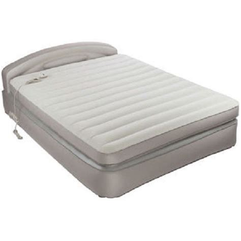 aerobed opti comfort air mattress with headboard