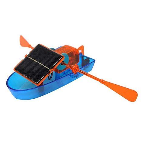 Solar Powered Toy Boat by Children Toy Diy Solar Powered Boat Alexnld