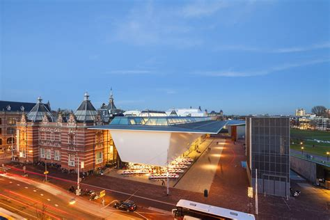 daring contemporary addition to amsterdam s stedelijk museum freshome
