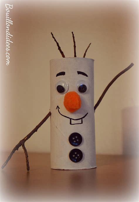 diy no 235 l bonhomme de neige olaf reine des neiges en rouleau papier toilette cpe