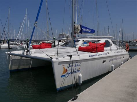 Catamaran Sailing Mooloolaba by Sailing Along The Sunshine Coast Australia Sofia In