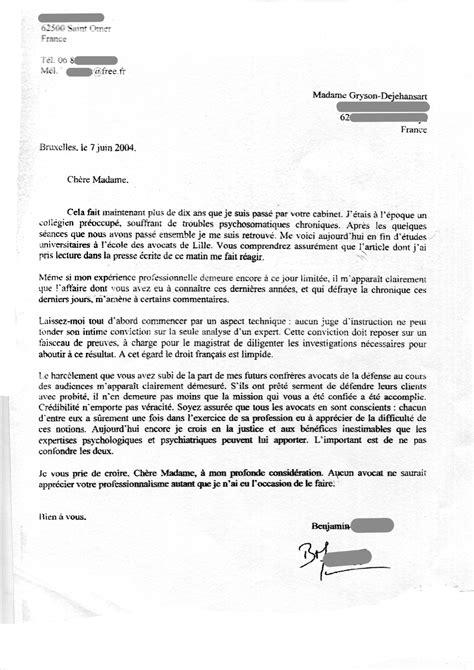 lettre de motivation stage cabinet d avocat exemple