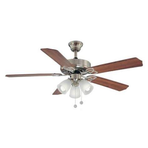 brookhurst 52 in indoor brushed nickel ceiling fan yg268
