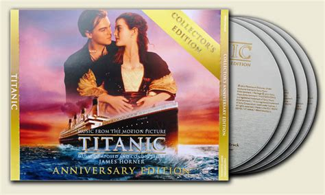 titanic ost collector s anniversary edition 4cds 2012