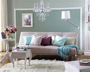 Wohnzimmer Farbe Gestaltung : wunderbare wandgestaltung im wohnzimmer bg ~ Markanthonyermac.com Haus und Dekorationen
