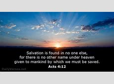 78 Bible Verses about Salvation DailyVersesnet